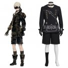 Game NieR:Automata 2B and 9S Cosplay Costume Adult Halloween Cosplay Costuem 2 Sets For couple lover
