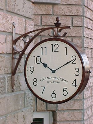 Grand Centeral Station Doube Sided Clock