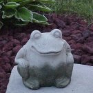 Freddie The Frog He Is So Cool, Cement Garden Decor
