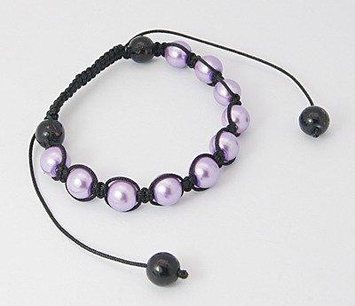 Shambala Purple Bracelet