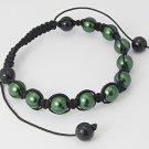 Green Shambala Bracelet