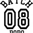 Batch o8 Bobo Sticker