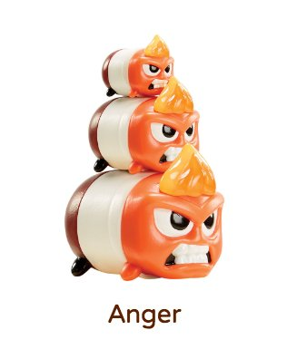 anger tsum tsum vinyl figurine 272 size large. Black Bedroom Furniture Sets. Home Design Ideas