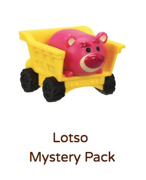 Lotso Tsum Tsum Vinyl Mystery Stack Pack (Series 4)
