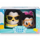 Mickey and Minnie Hawaiian Tsum Tsum Set Disney Store (Set of 2)
