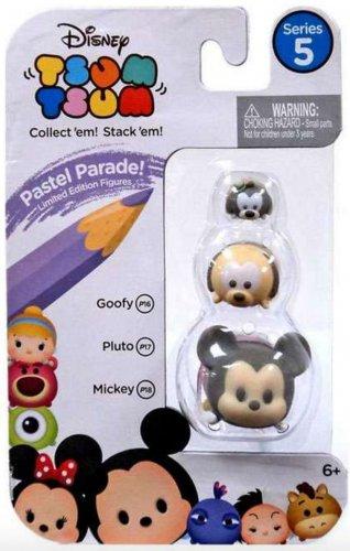 "Goofy (Pastel Parade!) Tsum Tsum Vinyl Figurine #P16 (size ""small"")"
