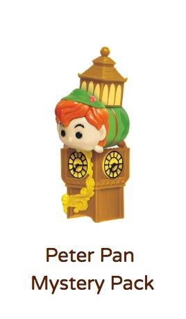 Peter Pan Tsum Tsum Vinyl Mystery Stack Pack (Series 5)