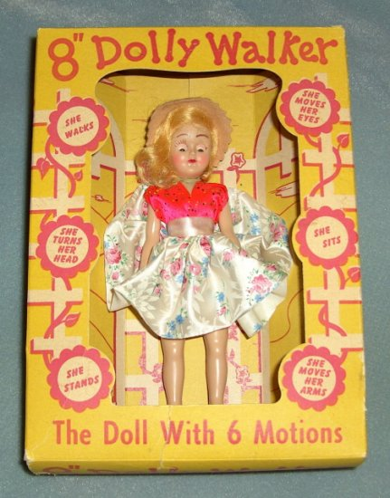 Dolly Walker By Admiration Ginger Spin off Doll 1950's