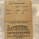Waltham Main Spring Sandsteel (ref#323)