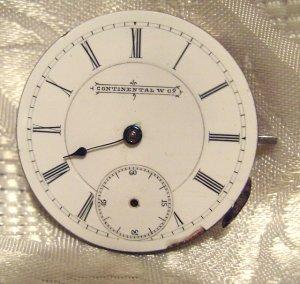 Continental Watch Co Movement  J.G.  Lyre Logo Julien Gallet (ref.549)