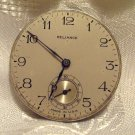 Ingersoll Watch Co. Pocket Watch Vintage Movement 7 Jewels 16 Size(ref.#599)