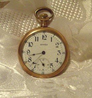 Waltham Equity Watch Co Pocket Watch 15 Jewels 16 Size (681)