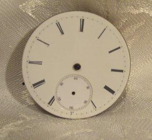 Nicoud Chaux-de-Fonds Keywind Vintage Pocket Watch Movement (668)
