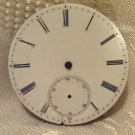 Keywind Pocket Watch Movement 40mm for Parts or Restoration (671)