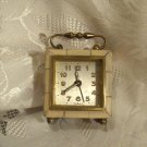 Junghans German Alarm Carriage Clock Vintage Mother of Pearl (ref.#685)