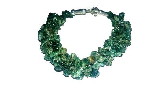 Green Mica Bracelet