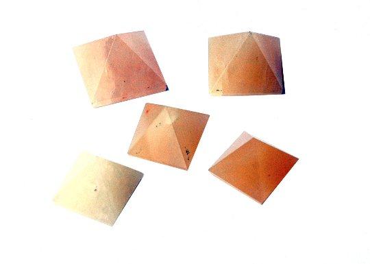 Yellow Aventurine Pyramids -  Set of 5