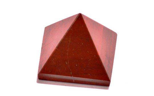 Red Jasper Pyramid- (22-30MM) Set Of 3