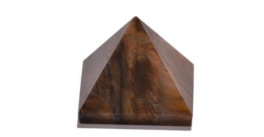 Tiger eye Pyramid - Set of 5 Pyramids - 22-30 MM each