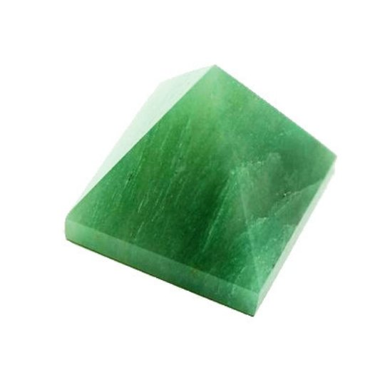 Green Aventurine Set of 5 Pyramids - 22-30 MM each