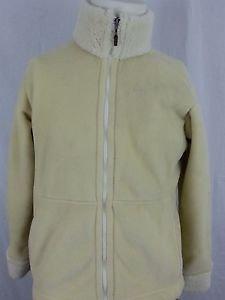 Patagonia Synchilla Cream White Full Zip Fleece Women's Jacket - L Large
