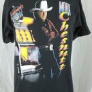 Vintage Mark Chesnutt Longnecks Short Stories 1992 Concert T-Shirt - L Large