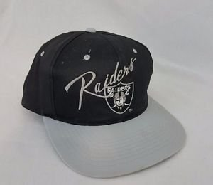 Vintage Los Angeles Oakland Raiders Football Snapback Team NFL Black Hat Eazy-E