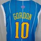 New Orleans Hornets Pelicans Eric Gordon #10 Adidas NBA Basketball Jersey - L