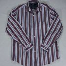 Nat Nast Luxury Originals Mens Long Sleeve Button Front Cotton Shirt Flip Cuff
