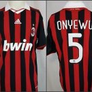 AC MILAN Oguchi Onyewu #5 Football Soccer adidas BWIN Jersey - M Medium