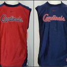 NEW St. Louis Cardinals Nike MLB Genuine Authentic Reversible Tank Top Youth L