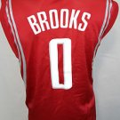 Houston Rockets Aaron Brooks #0 Adidas Swingman NBA Red Basketball Jersey - L