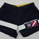 Polo Sport Ralph Lauren Charter Service Black Board 1992 Stadium Shorts Swim  XL