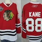 Chicago Blackhawks Patrick Kane #88 2010 Stanley Cup Champion NHL Red Jersey 54