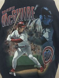 St Louis Cardinals Mark McGwire Back to Back Home Run Record 1997 Sweatshirt 2XL