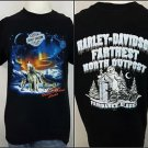 Harley-Davidson Motorcycles Fairbanks Alaska Farthest North Outpost Shirt - L