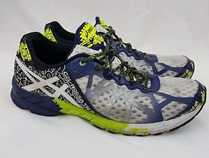 ASICS Gel-Noosa Tri 9 Men's White Running Shoes Size 10.5 T408N