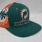 Miami Dolphins NFL Embroidered SnapBack Green Team Apparel Reebok Cap Hat