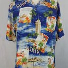 Polo Ralph Lauren Hawaii Hawaiian Aloha Camp Shirt Size Small
