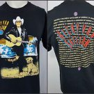 Vintage Ricky Van Shelton 1992 Concert Tour Country Graphic T-Shirt Size Large