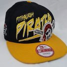 Pittsburgh Pirates Snapback Hat New Era 9Fifty Baseball Cap MLB Adjustable Black