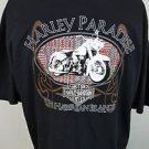 Harley-Davidson Motorcycles Maui The Hawaiian Islands 1996 Black T-shirt - XL