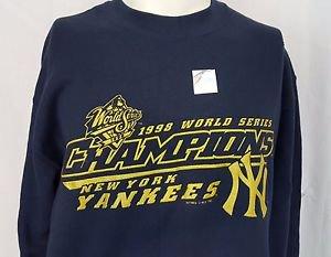 New York Yankees 1998 World Series Champions Sweatshirt Lee Sport Size Medium