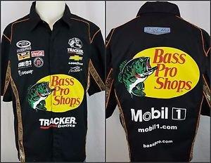 NASCAR Tony Stewart Haas Bass Pro Shops Pit Crew Replica JH Designs Shirt Size M