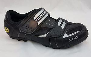 Shimano SPD SH-M 071 Cycling Shoes Men's 7 US 40 EU Biking Cycle Bike Velcro