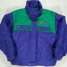 Vintage FILA MAGIC LINE Green Purple Retro JACKET Ski Coat ITALY - Large L