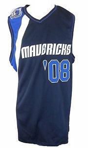 Dallas Mavericks Hardwood Classics '08  G III Carl Banks NBA Sewn Jersey - XL