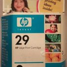 Genuine NEW HP 29 Black Ink Cartridge Sealed Deskjet 51629A Inkjet