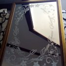 Engraved Personalized mirror