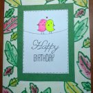 Birthday card & envelope - Free Shipping